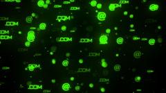 Computer Symbols 1 Stock Footage