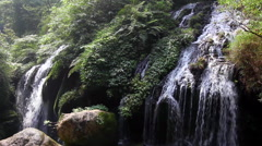 CHINA THREE GORGES YANGTZE RIVER BEAUTIFUL WATERFALL Stock Footage