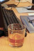 Drink at work Stock Photos