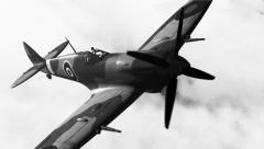 Supermarine Spitfire Stock Footage