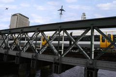 city transport - stock photo