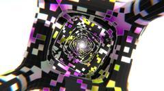 Stock Illustration of Abstract Corridor CG render