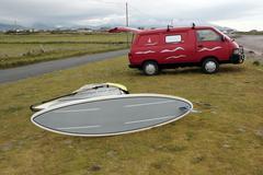 Windsurfers van Stock Photos