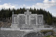 Kilmichael Ambush monument - stock photo