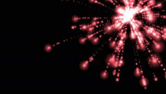 4k fireworks explosion in sky,festival celebrate. Stock Footage