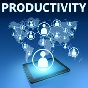 Productivity - stock illustration