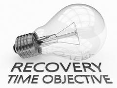Recovery Time Objective - stock illustration