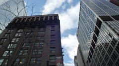 Chicago Clark and Monroe Stock Footage