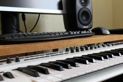 Music studio piano synthesizer Kuvituskuvat