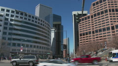Denver Streets 3 - stock footage