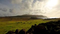 Easter Island Statues 14 HD - stock footage
