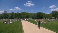 Stock Video Footage of London Hyde park time lapse
