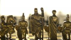 Chess pieces Stock Footage