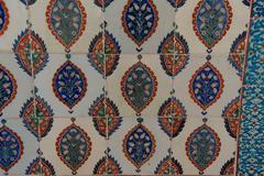 Stock Photo of Intricate Iznik mosaic tile work