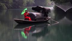 CHINA THREE GORGES YANGTZE RIVER BEAUTIFUL Stock Footage