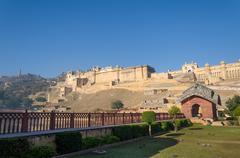 Amber Fort, Landmark in Jaipur - stock photo