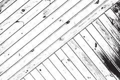 Striped Wooden Planks - stock illustration