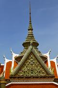asia  thailand  in  bangkok sunny     and  colors religion - stock photo