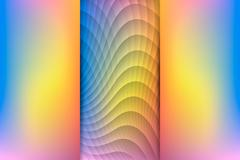 Sunrise Colored Abstract Background, Vector Illustration - stock illustration