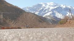 Riding through the Morocco Stock Footage