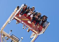 Amusement park ride Kuvituskuvat
