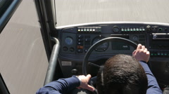 Bus driver Arkistovideo