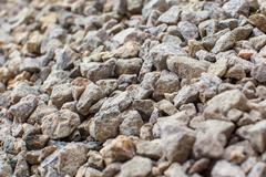 gravel for background - stock photo