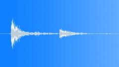 Pinball sound, metal clank with return 02 Sound Effect