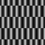 Op Art Design, Striped Checkered Vector Seamless Pattern Stock Illustration
