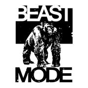 Beast Mode Big Gorilla Monkey T-shirt Design, Vector Illustratio Stock Illustration