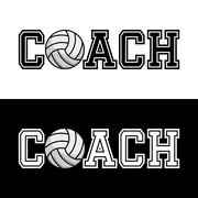Coach T-shirt Typography, Vector Illustration Stock Illustration