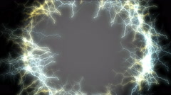 4k hole of lightning,wormhole,heaven paradise ray tunnel,universe soul channel. Stock Footage