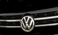 VW Logo - stock photo