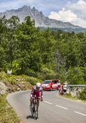 The Cyclist Pavel Brutt - Tour de France 2013 Stock Photos
