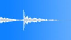 Scifi Production Elements: Click Multiple Metallic Scrape Reverb - sound effect