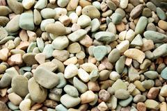 stretch of gravel background - stock photo