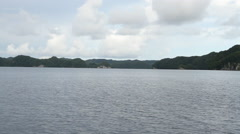 The Rock Islands of Palau Stock Footage