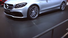 Mercedes?AMG C 63 S Estate high performance station wagon Stock Footage