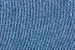 Texture of color jeans textile close up Stock Photos