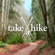 Take a Hike Poster - stock illustration