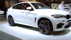 BMW X6 M and 6 Series Gran Coupe Stock Footage