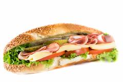 Submarine sandwich - stock photo