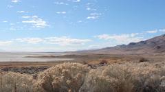 Antelope Island Utah Time Lapse Stock Footage