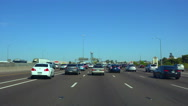 Stock Video Footage of 4K UHD Phoenix afternoon traffic rush hour congestion on freeway 5