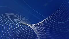 Vector Lines Blue Abstract Motion Background Stock Footage