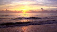 Stock Video Footage of Beautiful Ocean Sunrise on the Florida Coast