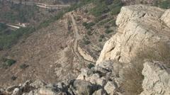 Mount of Precipitation, Nazareth Stock Footage