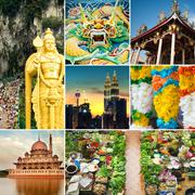 Malaysia attractions Stock Photos