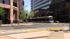 Downtown Phoenix, Arizona Street Stock Footage