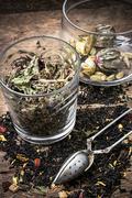 tea brew - stock photo